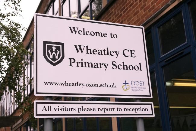Wheatley CE Primary School.Picture: Ric Mellis.15/10/2018.