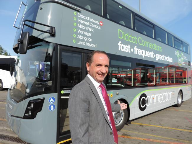 Oxford Bus Company managing director Phil Southall