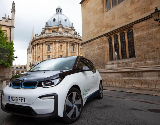 Co-Wheels launches 10 new BMW i3s. Picture: Mark Bassett