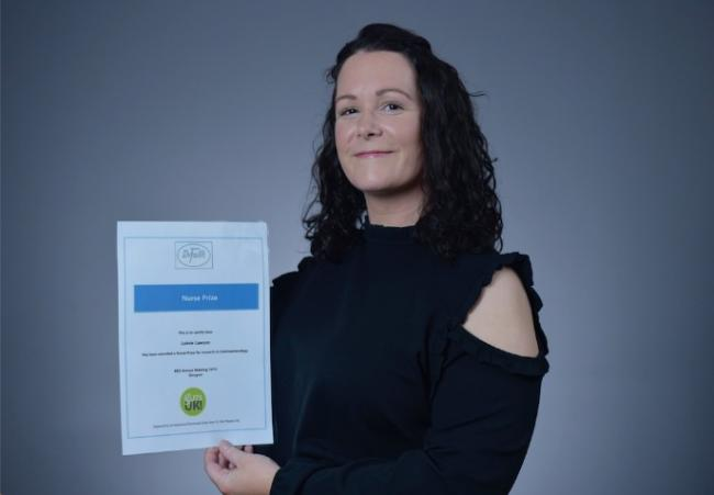 Lainie Lawson, based at John Radcliffe Hospital, has been awarded a prestigious award to recognise her work in improving hepatitis C virus service in local prisons including HMP Bullingdon in Bicester.