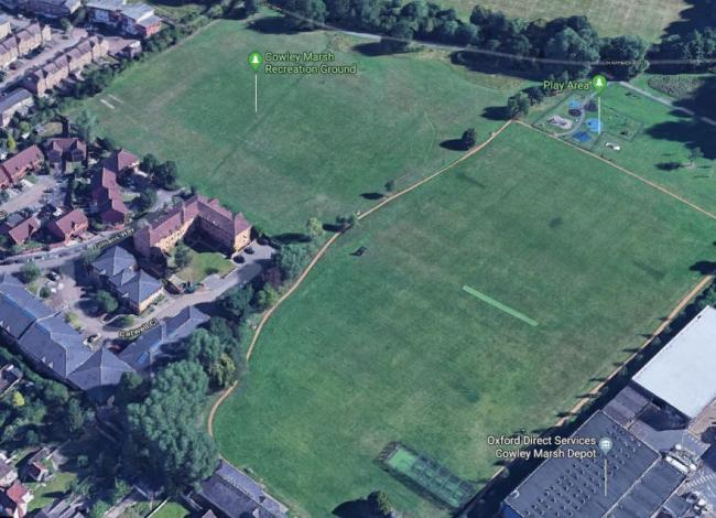 Cowley Marsh Recreation Ground in Oxford. Pic: Google Maps