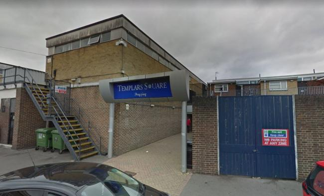 The rear of Templars Square shopping centre, Cowley, near to Upper Barr. Picture: Google Maps
