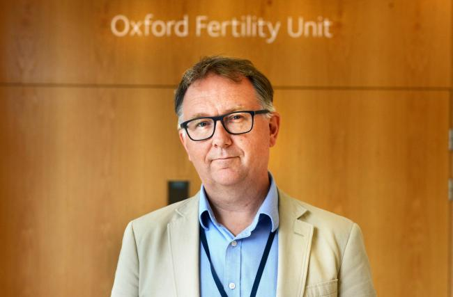 Oxford Fertility Clinic medical director Tim Child. Picture: Richard Cave