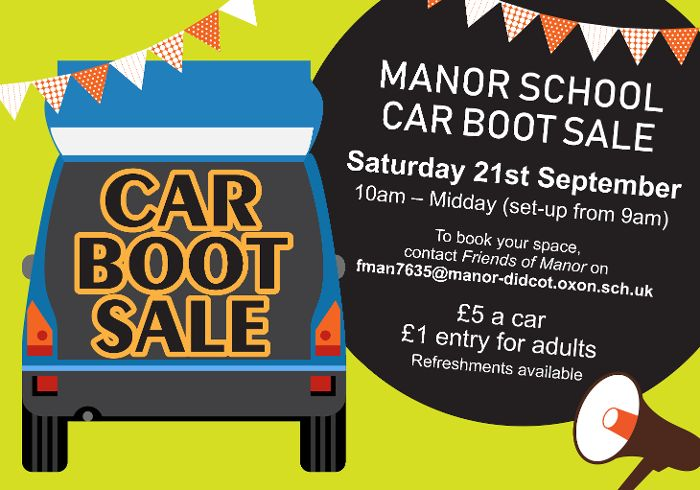 Manor School Car Boot Sale