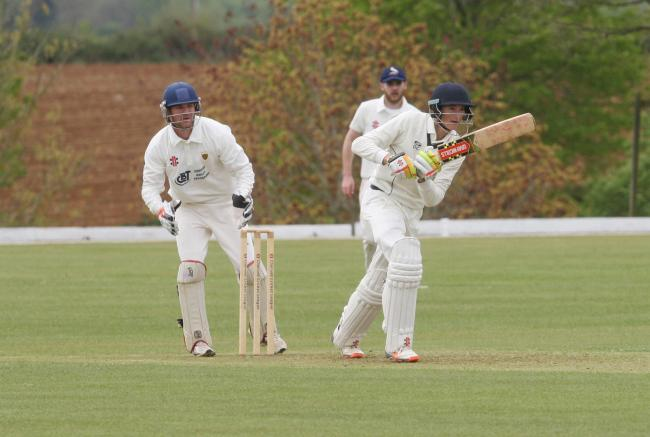 Olly Clarke top-scored with 97 in Oxon's 406 all out