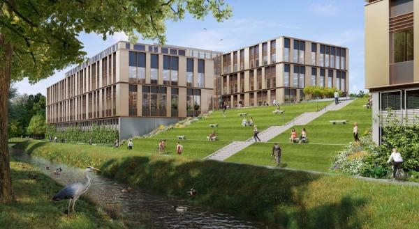 Oxford Science Park's plans for a 165,000sq ft new office and lab complex.