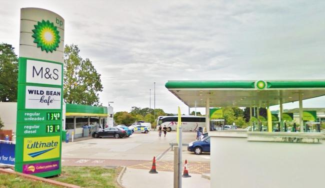 BP garage, Woodstock Road, Oxford. Picture: Google Maps