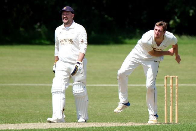 Oxford captain Jamie Perkin (left) goes head-to-head with Oxford Downs skipper George Sandbach tomorrow Picture: Ric Mellis