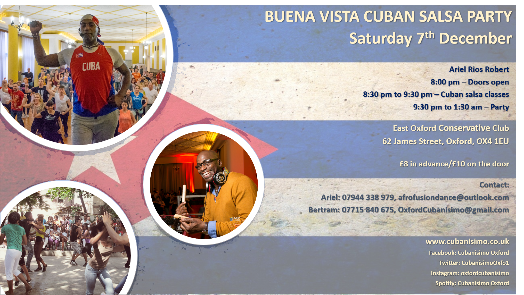 Cuban Salsa Party in Oxford