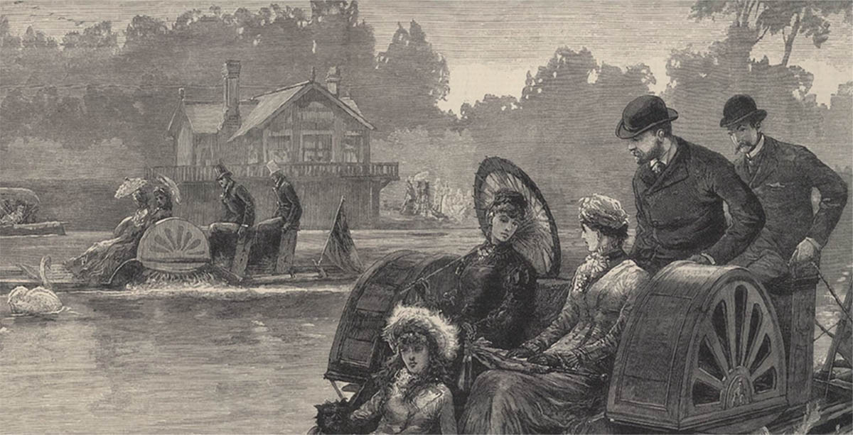 The Rise and Fall of Pleasure Boating on the Thames