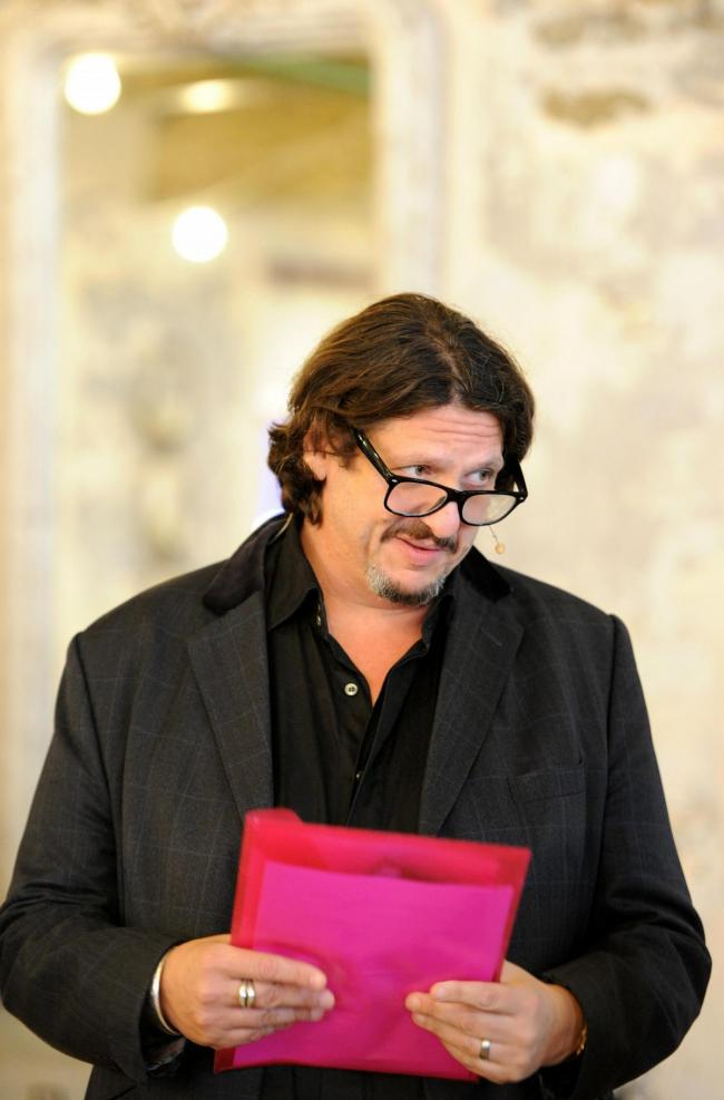 Restaurant critic Jay Rayner - pic. Paul Heyes Photography