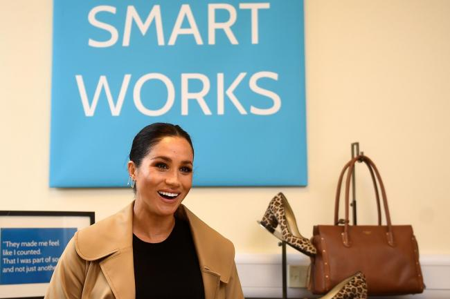 Duchess of Sussex at Smart Works
