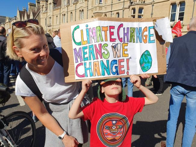 Students ditch school for climate strike today