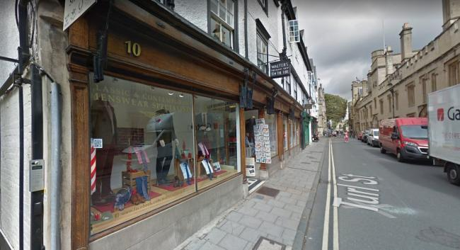 Turl Street, where the offence is alleged to have taken place. Picture: Google Maps.