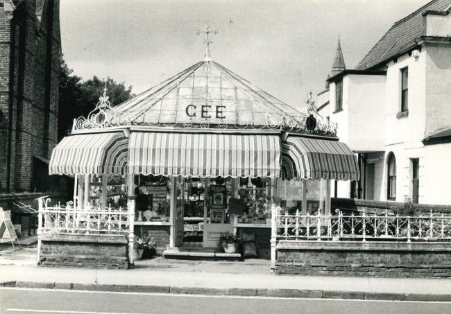 Gee's Conservatory in Oxford was converted into a restaurant