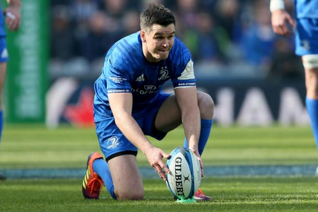 Leinster's Johnny Sexton suffered an injury against Northampton