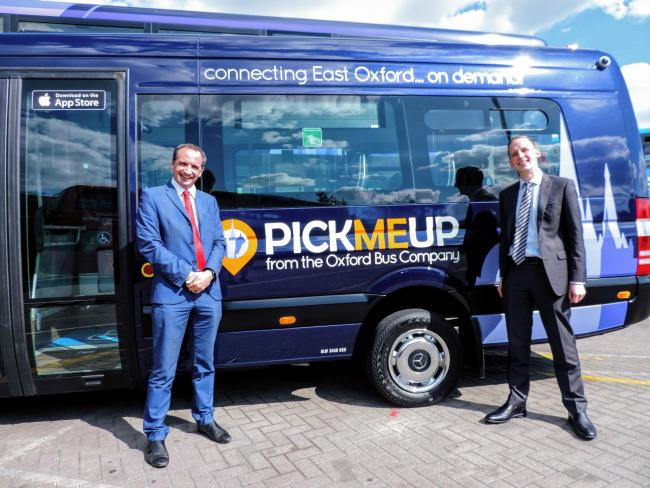 Oxford Bus Company's PickMeUp service Picture OBC