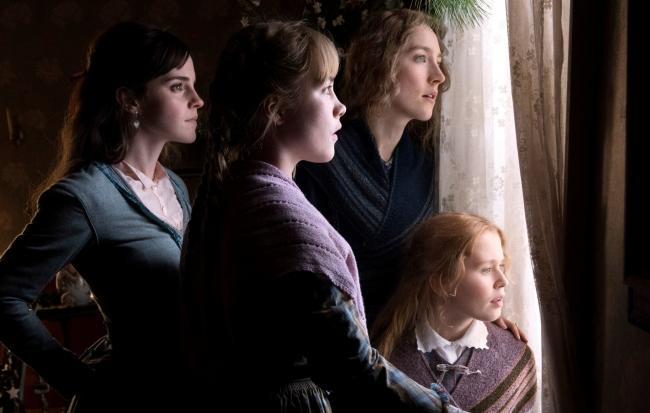 Classic: From left, Emma Watson as Meg March, Florence Pugh as Amy March, Saoirse Ronan as Jo March and Eliza Scanlen as Beth March. Pictures: PA Photo/Columbia Pictures Industries, Inc./Wilson Webb