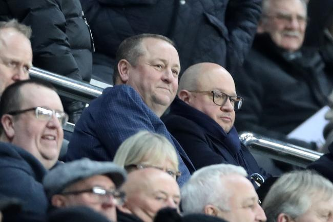 Newcastle owner Mike Ashley was among the crowd as Newcastle beat Rochdale 4-1 in their FA Cup third round replay