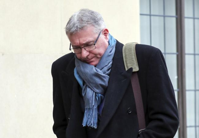 Peter Knight leaving Oxford Crown Court after his sentencing. Picture: Steve Parsons/PA Wire.