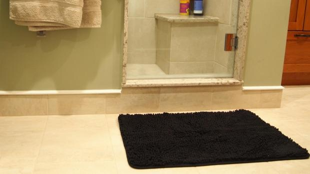 thisisoxfordshire: A stylish bath mat can brighten up your space. Credit: Reviewed / Kori Perten