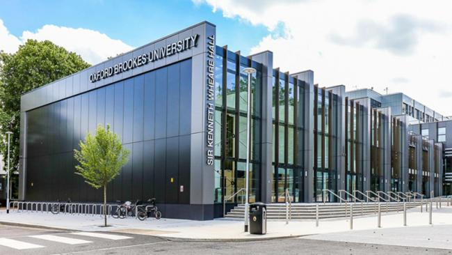 The Sir Kenneth Wheare Hall. Picture: Oxford Brookes