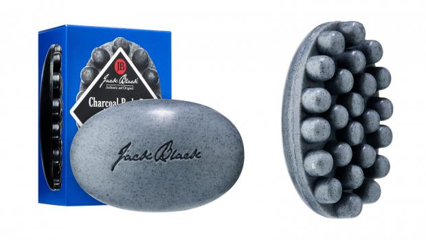 thisisoxfordshire: Exfoliate your body with the Jack Black Charcoal Body Bar Massaging Soap. Credit: Jack Black