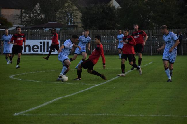 Ardley United in action against Edgware Town  Picture: Dan Reed