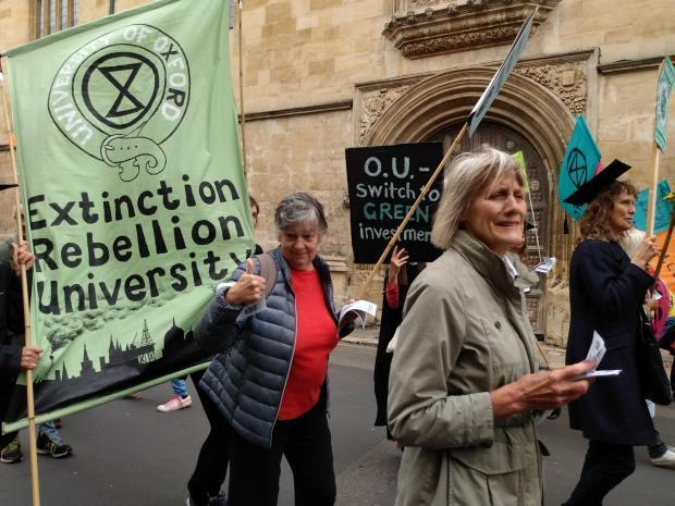thisisoxfordshire: Extinction Rebellion protesters make their voices heard in 2019