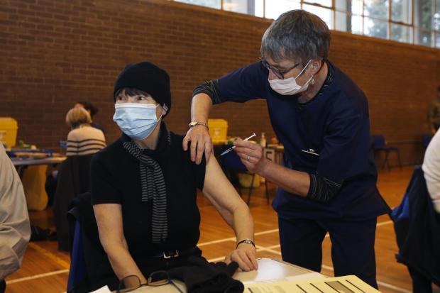 Vaccinations at Cherwell School in Oxford