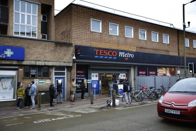 The Cowley Road Tesco is due to close for building work soon as 137 student flats are being built on top of it. Picture: Ed Nix