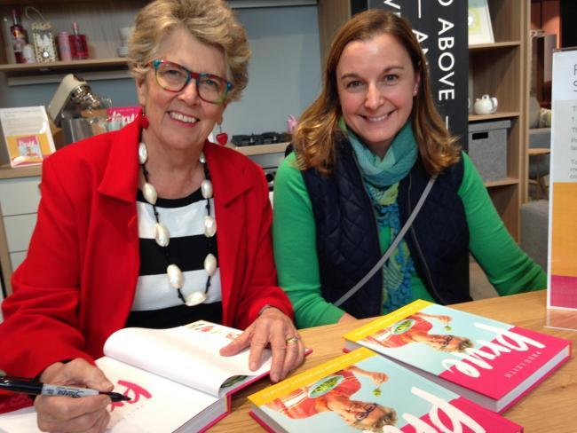Prue Leith visits John Lewis for a book signing Picture: Andy Ffrench