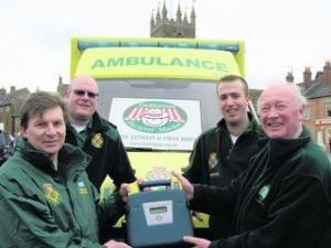 Gift saves life in Deddington after 20 minutes (UK)