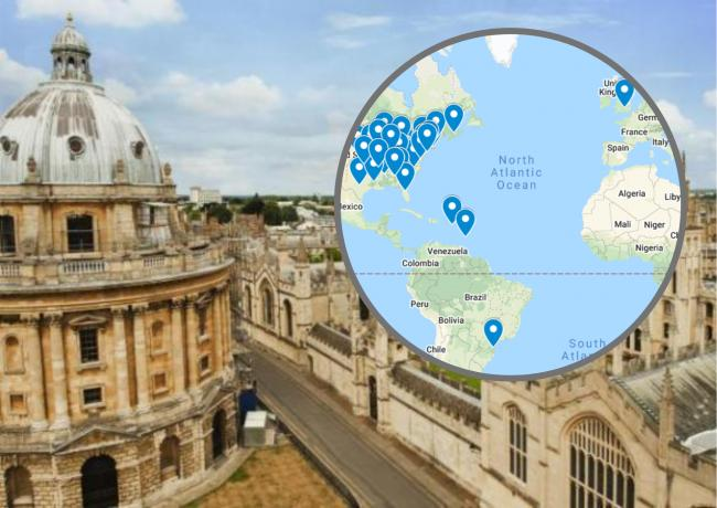 Other places called Oxford around the world