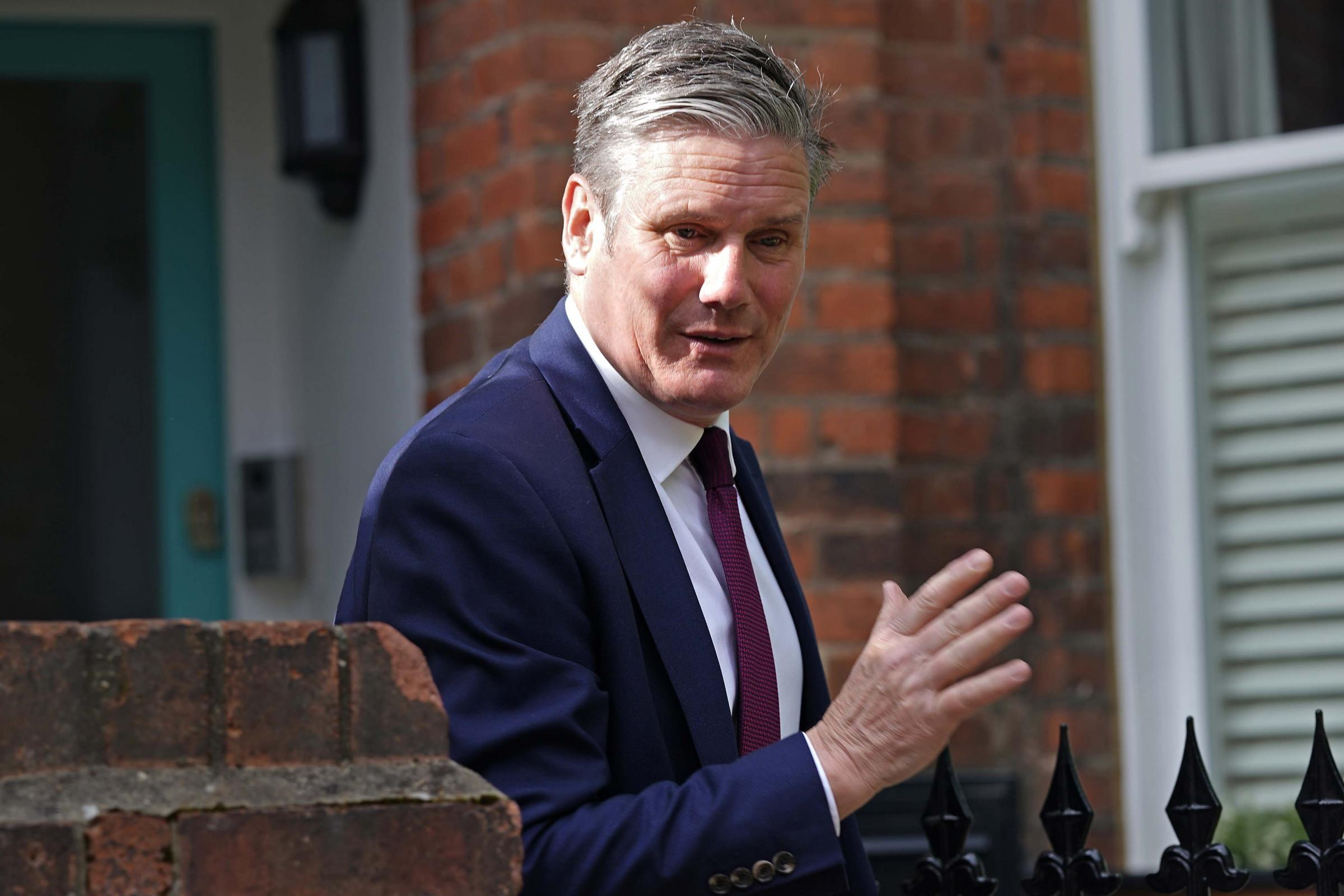 Starmer tells Labour top team: 'I take responsibility for by-election loss'