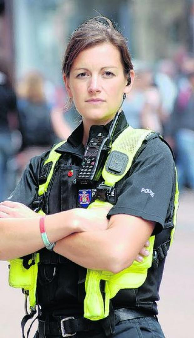 thisisoxfordshire: Sgt Claire Storry