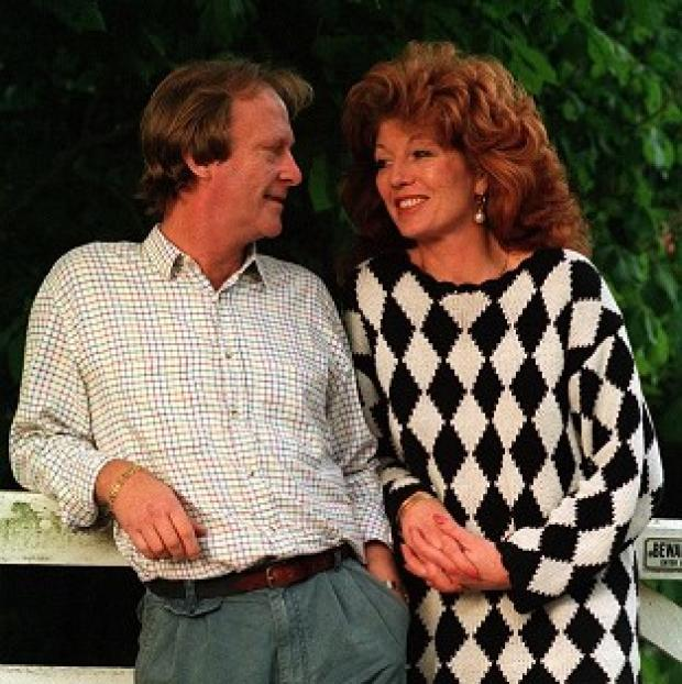 Dennis Waterman admitted he hit Rula Lenska when they were married