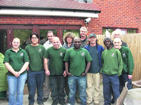 thisisoxfordshire: Staff and residents at Emmaus