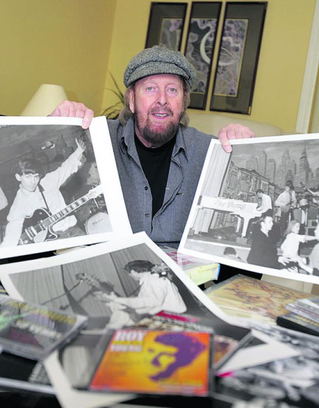 thisisoxfordshire: Musician Roy Young with some of his old photographs