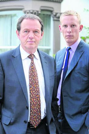 Kevin Whately and Laurence Fox in the hit series Lewis