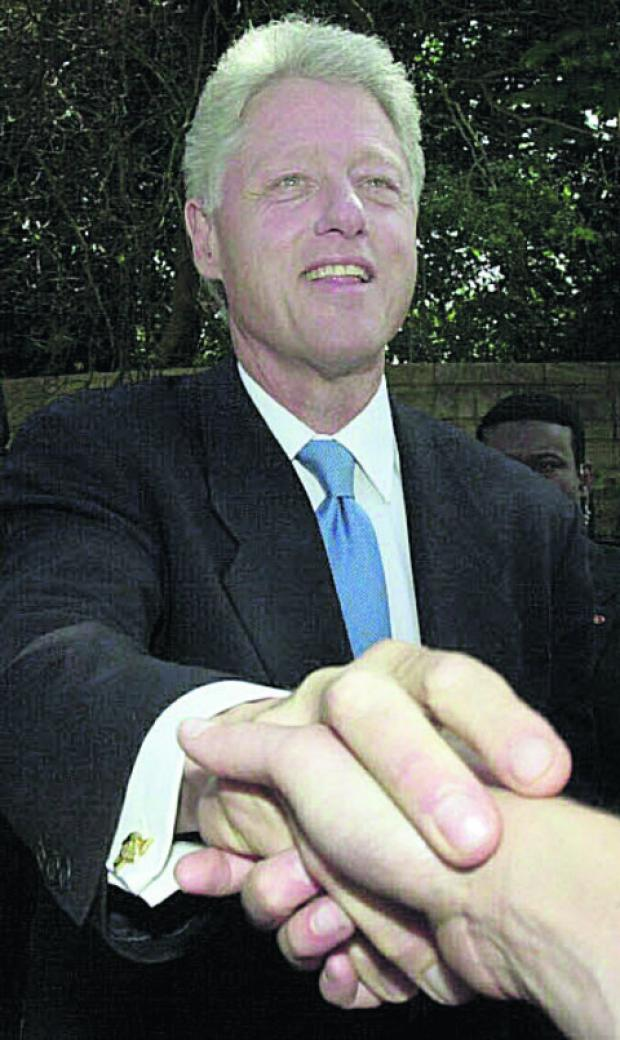 thisisoxfordshire: Bill Clinton in 2001
