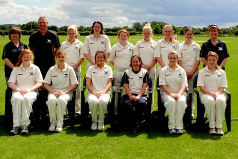 Oxfordshire women, who beat Wiltshire