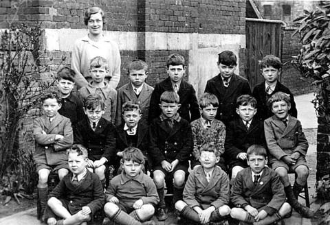 David Townsend sent in this picture of the class of 1935 at SS Philip and James School. A Bert Badcock is pictured in the front row, second from right