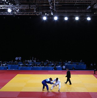 Sarah Menezes won Brazil's first gold medal with victory in the -48kg judo