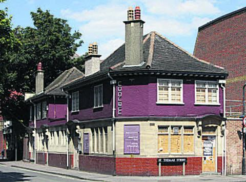 The former Chequers pub