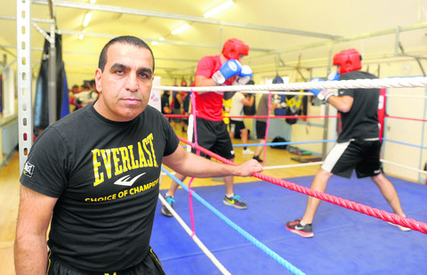 Boxing club move packing extra punch