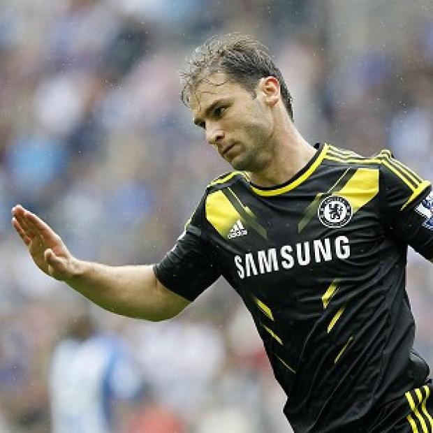 Branislav Ivanovic's early strike set Chelsea on the way to victory