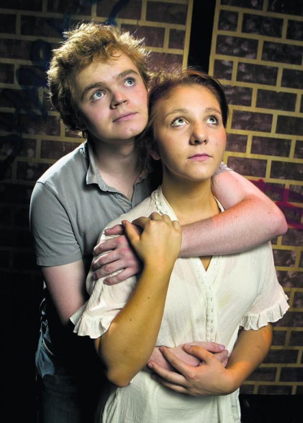 Tony (Will Abell) and Maria (Hannah Cross)