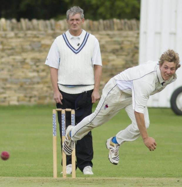 thisisoxfordshire: Freddie Simon bagged a hat-trick for Chadlington