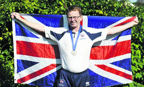 Transplant Games silver medallist Steve Whelan is already in training again, with his eyes on the gold medal at the World Games in South Africa next year